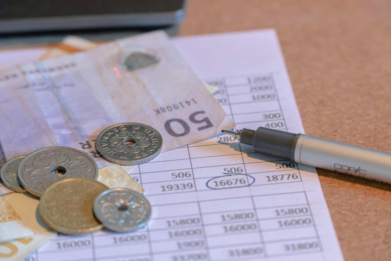 Penge og beregninger på besparelser ved håndværkerfradrag