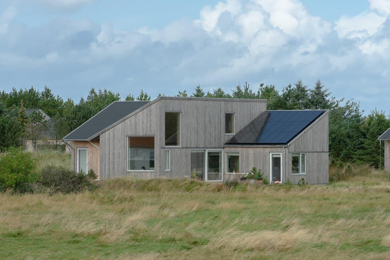 Salgsklar bolig med solceller