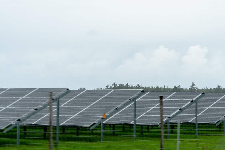 Solenergi udvundet på mark ved hjælp fra celler