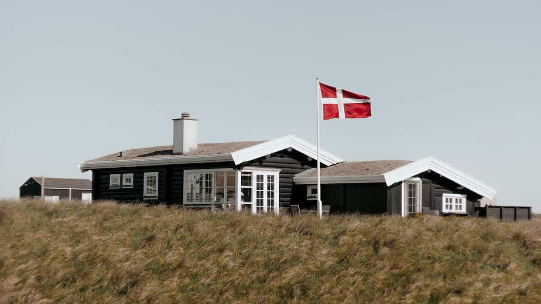 Nybygget sommerhus i Lønstrup