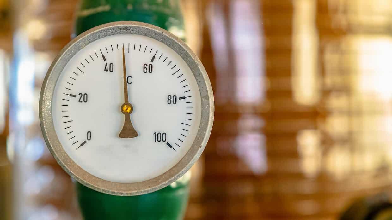 temperatur måler for oliefyr